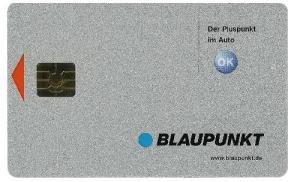 Blaupunkt keycard
